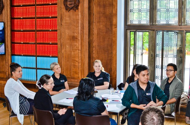 Some students from Curtin University, Australia