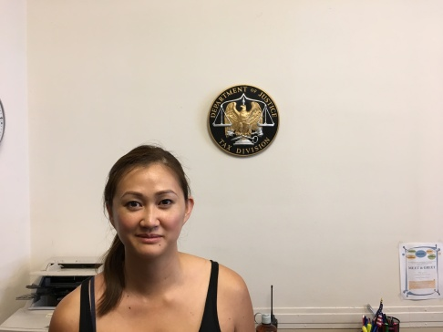 May Hen at the Department of Justice, USA